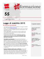 n° 55 del 7 gennaio 2015