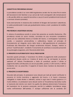 CONCETTO DI PREVIDENZA SOCIALE La
