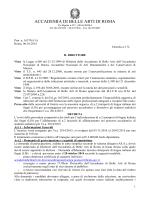 Bando interprete di lingua italiana dei segni A.A. 2014-2015