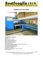 PUNZONATRICE FINN-POWER - Bentivoglio Macchine Utensili Srl