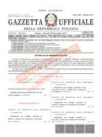 GAZZETTA UFFICIALE - Anaci Interprovinciale