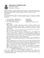 N. 1 - Comune di Francolise