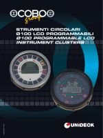 diam.100 programmable lcd instrument clusters