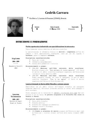 Curriculum - WordPress.com