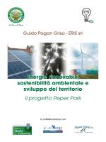 Il progetto Peper Park