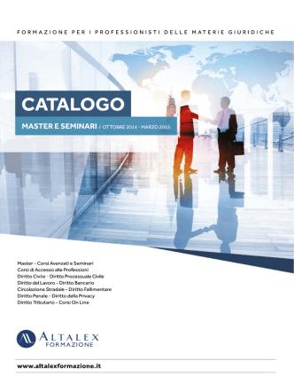 Catalogo Altalex Formazione (Ottobre 2014