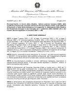 Decreto di riconoscimento in favore della Prof.ssa Vanessa IANNI