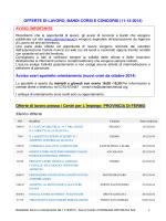 Offerte Lavoro - Informagiovani Recanati