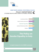 The Policy on Gender Equality in Italy - European Parliament
