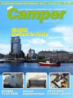 Il settimanale freepress del camperista - Anno V Il