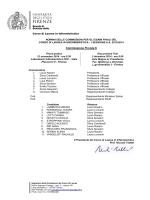 Commissione Firenze 6 - Corso di Laurea Triennale in Infermieristica