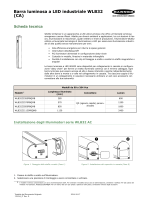 Barra luminosa a LED industriale WLB32 (CA)