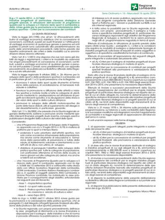 Bollettino Ufficiale Serie Ordinaria n. 16