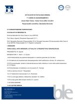 UP-TO-DATE IN PATOLOGIA VENOSA 1^ CORSO DI