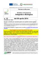 n.12 del 9 aprile 2014 - Provincia di Bologna