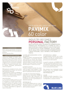 PAVIMIX 60 COLOR-Malta autolivellante