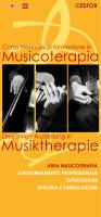 Libretto informativo corso triennale musicoterapia 2012