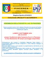 Comunicato n.08 - FIGC PC