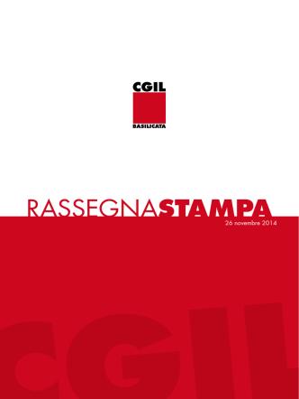 26_11_2014 - CGIL Basilicata