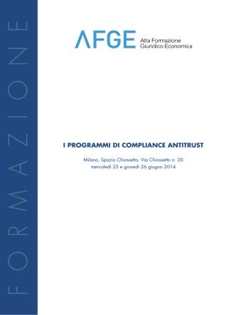 AFGE_Antitrust_def - Alta Formazione Giuridico Economica