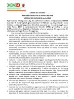 ORDINE DEL GIORNO ASSEMBLEA DEGLI RSU DI ROMA