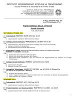 Piano Annuale delle Attività 2014/15 Scuola Primaria