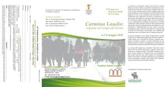 Carmina Laudis - Pontificio Ateneo S. Anselmo