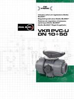 VKR PVC-U DN 10÷50