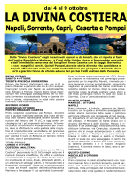 I Costa Amalfitana 04 - 09 oct