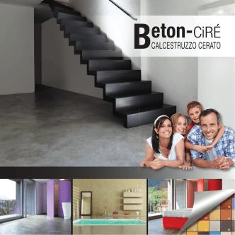 14-0729 BetonCire Prospekt italienisch.indd - beton-ciré