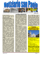 La lettera del parroco - Parrocchia San Paolo Parma