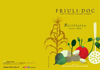 Clicca qui per scaricare il ricettario! - Friuli
