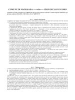 Capitolato [file ] - Regione Autonoma della Sardegna