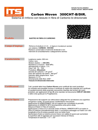 Carbon Woven 300CHT-B/DIR.