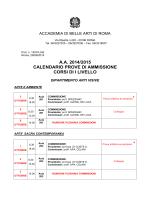 Download - Accademia di Belle Arti di Roma