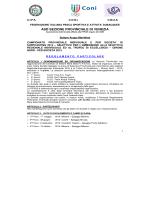 Regolamento Campionato Provinciale Surfcasting