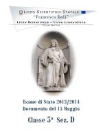 5ªD - Liceo scientifico Redi