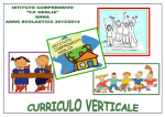 P.O.F. 2013-2014 — Curriculo Verticale Pag. 1 -