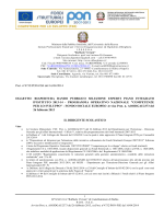 Prot. n°4732/PON-FSE del 16/04/2014 OGGETTO: RIAPERTURA