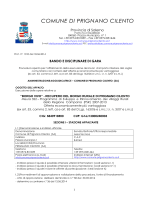 PSR 322 -Bando di gara Prignano CIlento_vers