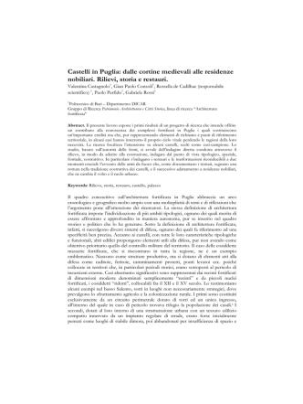 Castelli in Puglia: dalle cortine medievali alle