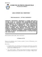 Determinazione n. 157 del 10 marzo 2014
