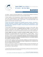 Bando Premio COMEL 2015