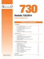 Modello 730/2014 - Università di Udine