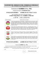 Programma Stirati - Comune di Gubbio
