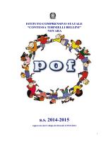 POF a.s. 2014-2015 - ISTITUTO COMPRENSIVO BELLINI