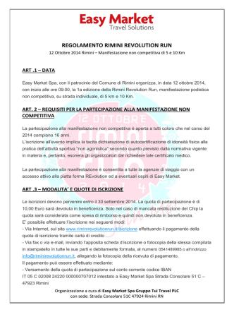 Apri il regolamento in PDF