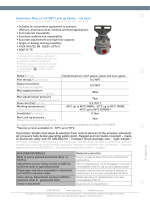 "Aluminium Alloy or 1/4""NPT Lock-up Valves – LK serie It provides"