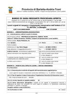 Bando - Ordine degli Architetti Barletta-Andria