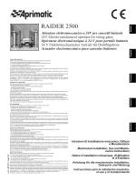 MANUAL RAIDER 2500